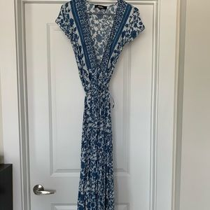 Lulus Maxi Wrap Dress